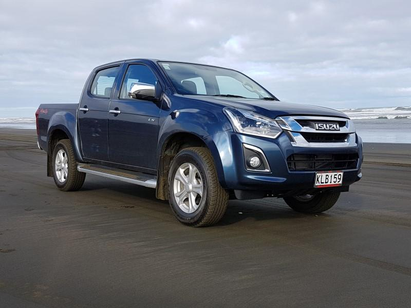 D-Max at home or off the road.