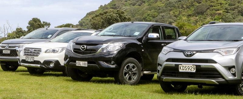 Four flavours of 4WD