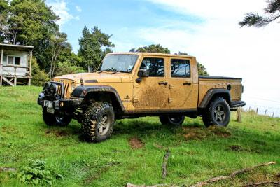 Jeep Brute Ute Nz4wd Nz4wd Magazine Offroading In Nz